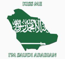 Kiss Me I'm Saudi Arabian Kids Tee