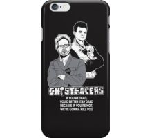 GhostFacers iPhone Case/Skin
