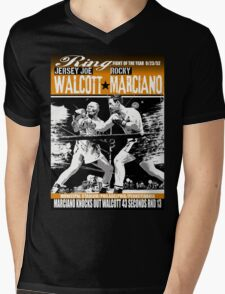 MARCIANO WOLCOTT Mens V-Neck T-Shirt