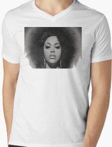 Black Beauty Mens V-Neck T-Shirt