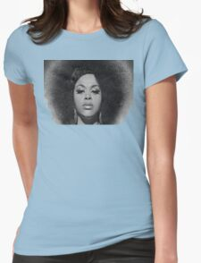 Black Beauty Womens Fitted T-Shirt
