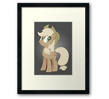 Applejack lies Framed Print