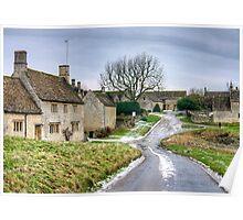 Little Barrington - The Cotswolds Poster
