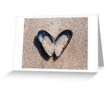 mussel heart Greeting Card