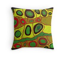 Cell Life Throw Pillow