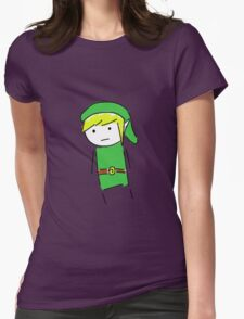 Link Doodle Womens Fitted T-Shirt