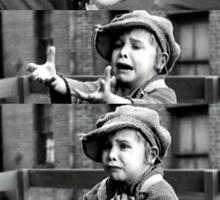 The Kid - Charlie Chaplin Sticker
