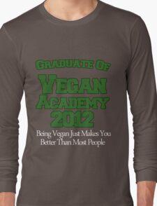 Scott Pilgrim - Vegan Academy Graduation Shirt Long Sleeve T-Shirt