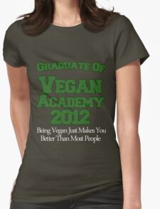 Scott Pilgrim - Vegan Academy Graduation Shirt Womens Fitted T-Shirt