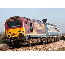 Class 67 diesel loco 67022 Photographic Print