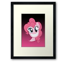 Pinkie Pie Party in my Head no text Framed Print