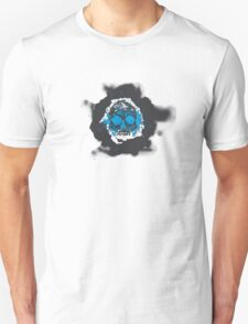 Death's-head blue Unisex T-Shirt