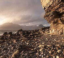 Late afternoon light on Elgol by Christopher Cullen