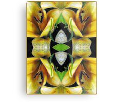 Compassion - Card X from The Tarot of Flowers Metal Print