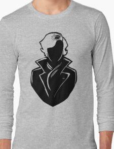 Sherlock Silhouette (Black) Long Sleeve T-Shirt