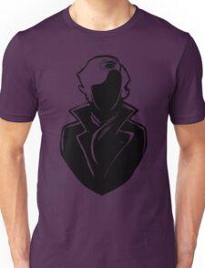 Sherlock Silhouette (Black) Unisex T-Shirt