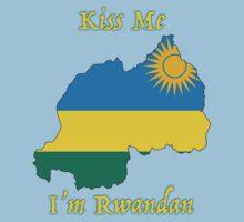 Kiss Me I'm Rwandan One Piece - Short Sleeve