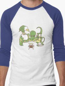 Something Sinister Men's Baseball ¾ T-Shirt
