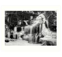 Ganoga Falls in Winter Art Print