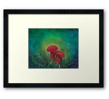 Mushrooms #2 Framed Print