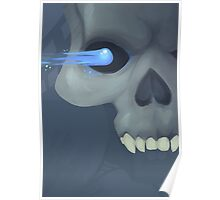 Frosty The Skeleton Poster