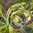 Hippies by Fractal artist Sipo Liimatainen