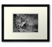 Abstract Vector Foliage  Framed Print