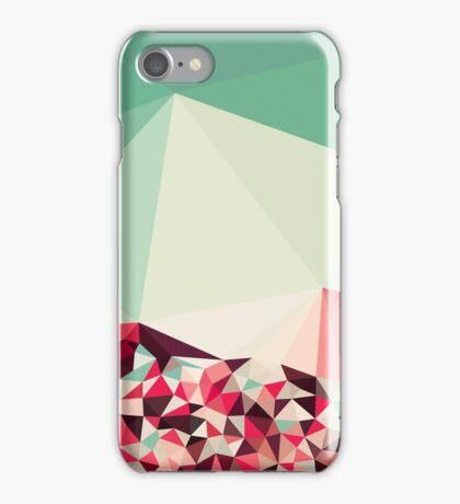 Poppy Field Tris iPhone Case/Skin