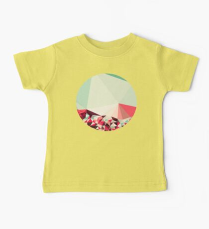Poppy Field Tris Baby Tee