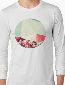 Poppy Field Tris Long Sleeve T-Shirt