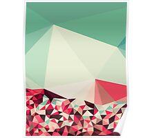 Poppy Field Tris Poster