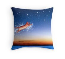 Flight to Sagittarius Throw Pillow