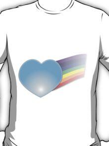 Glass Heart with Rainbow T-Shirt