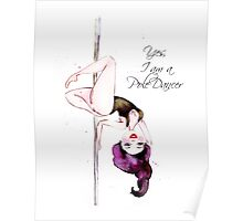 Pole Dancer Poster