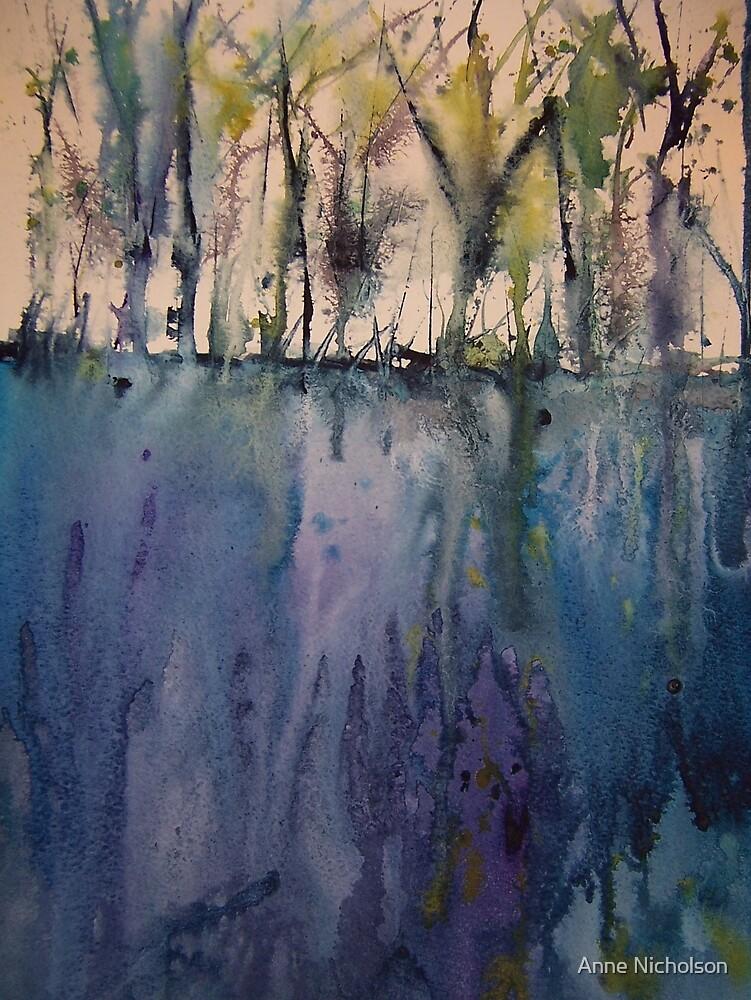 forest scene by Anne Nicholson