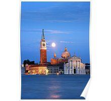 San Giorgio Maggiore Church, Venice Poster