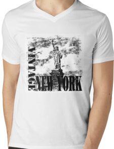 Vintage New York T-shirt Mens V-Neck T-Shirt