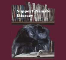 Support Primate Literacy T-Shirt