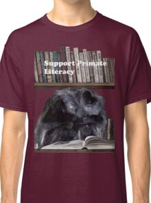 Support Primate Literacy Classic T-Shirt