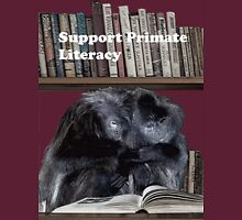 Support Primate Literacy Unisex T-Shirt