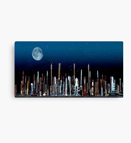Screw York City Canvas Print