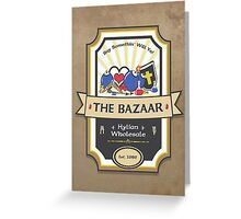 The Bazaar - Zelda Greeting Card