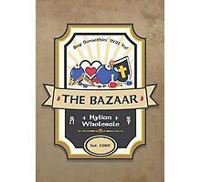 The Bazaar - Zelda Photographic Print
