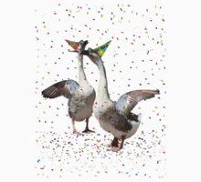 HAPPY BIRTHDAY! Celebrating Geese Kids Tee