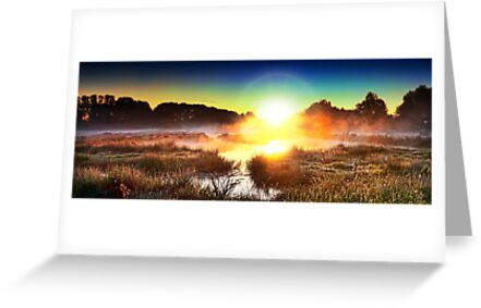 Sunrise at Cornmill Meadow by Lea Valley Photographic