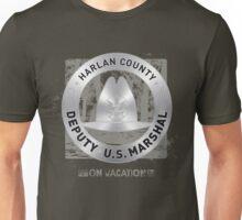 Justified US Marshal Badge Unisex T-Shirt
