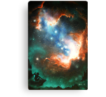 In Search of Endless Worlds: Hominid to Hubble Canvas Print