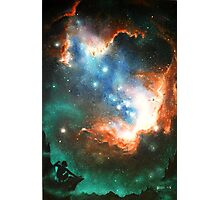 In Search of Endless Worlds: Hominid to Hubble Photographic Print