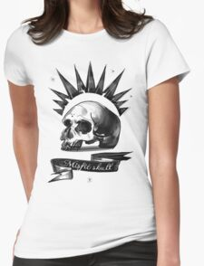 Mistic Skull  Womens Fitted T-Shirt