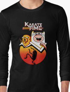Karate Time Long Sleeve T-Shirt